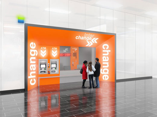 New branch redesign at the Vienna airport