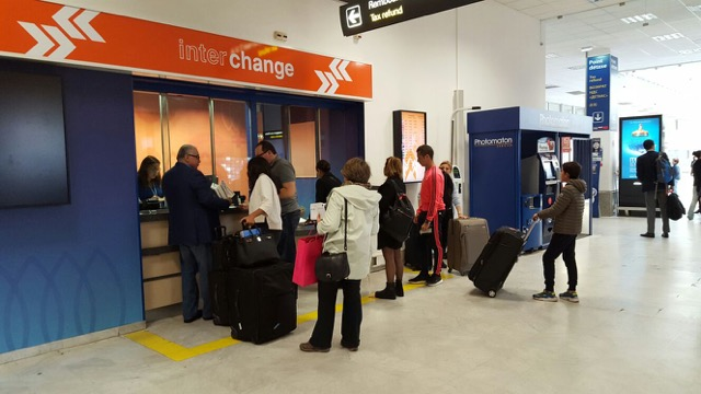 Interchange to provide foreign exchange services at the international airport in Nice